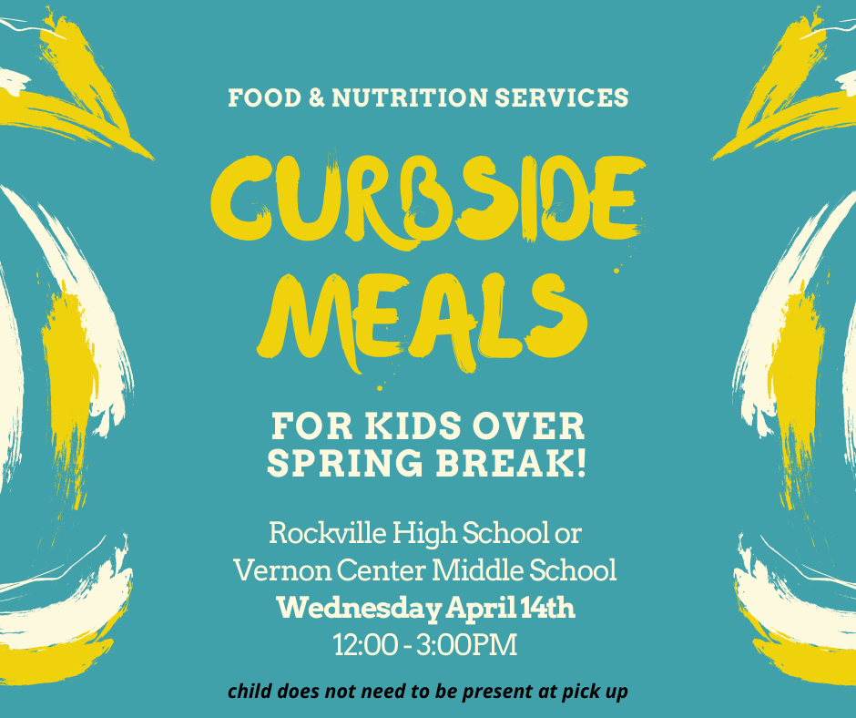 Curbside Meals for Kids over Sprint Break!