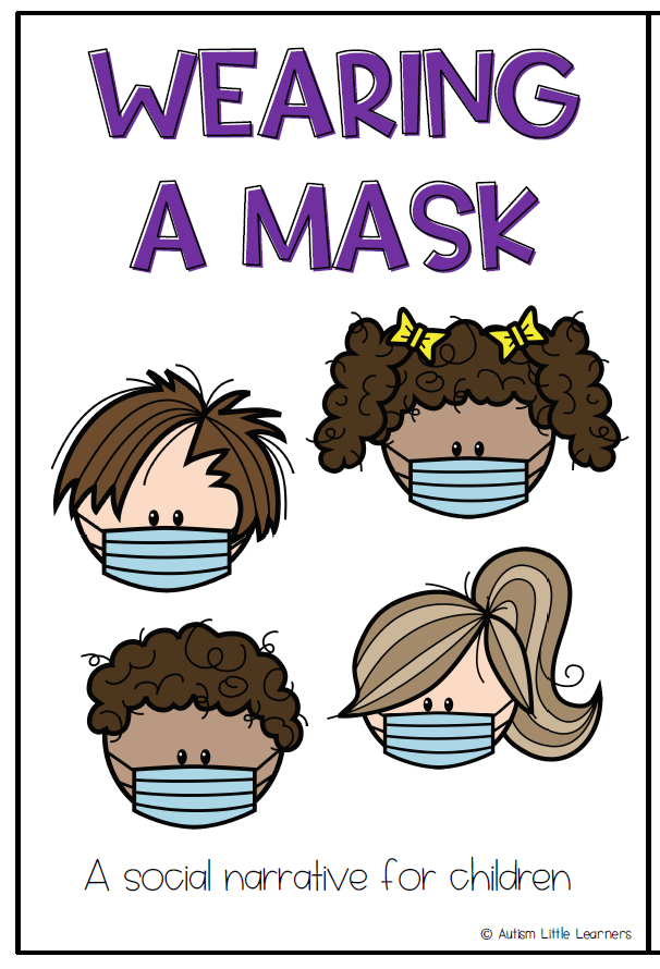 Wearing a Mask a Book for Children